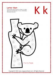 Letter Hunt (K For Koala)