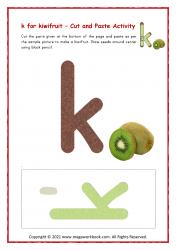 k for kiwifruit - Small k