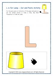 L for Lamp - Capital L