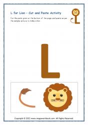 L for Lion - Capital L