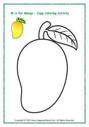 Copy Coloring (Mango)