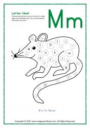 Letter Hunt (M For Mug)