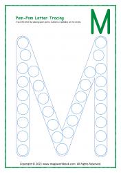 Uppercase M
