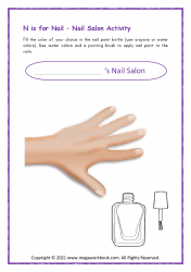 Nail Salon Activity