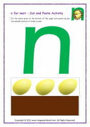 n for nest - Small n