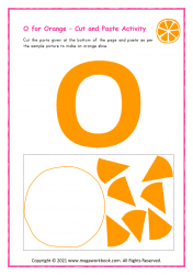 O for Orange - Capital O