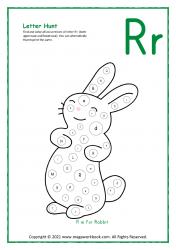 Letter Hunt (R For Rabbit)