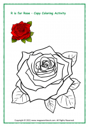 R For Red Rose