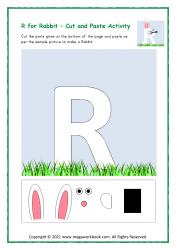 R for Rabbit - Capital R