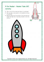Rocket Take Off Activity