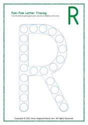 Uppercase R