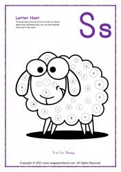 Letter Hunt (S For Sheep)