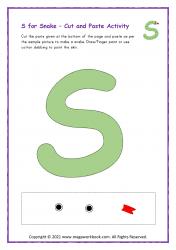 S for Snake - Capital S