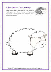 S for Sheep