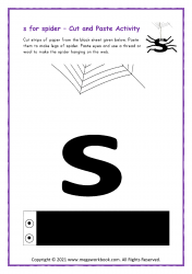 s for spider - Small s