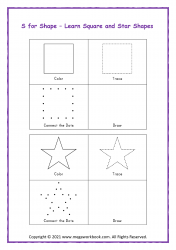 S For Shape (Square/Star)