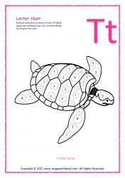 Letter Hunt (T For Turtle)