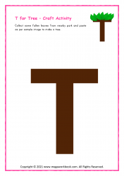 T for Tree - Capital T