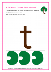 t for tree - Small t