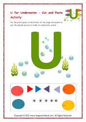 U for Underwater - Capital U
