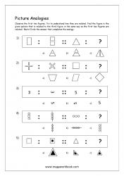 Picture Analogies Worksheet For Kindergarten - 05