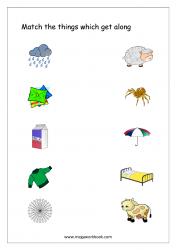 Things That Go Together Worksheet - Free Printable Worksheet