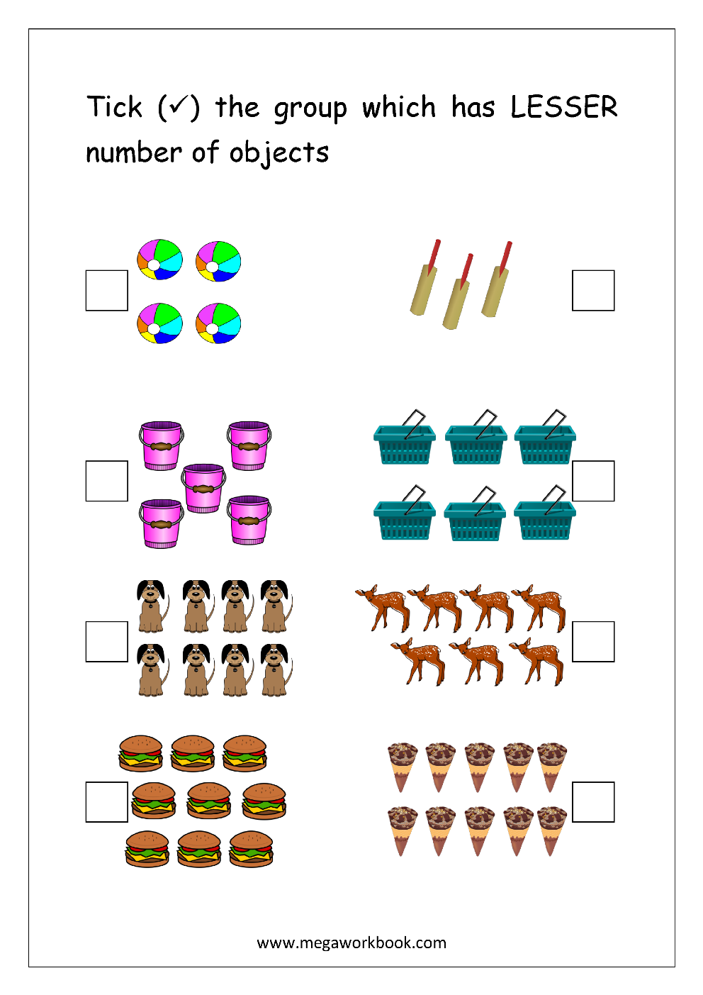 Free Printable More Or Less Worksheets Greater Than Less Than Worksheets Comparing Numbers 1 5 1 10 Megaworkbook - View Greater Than Less Than Worksheets For Kindergarten Pdf Pictures