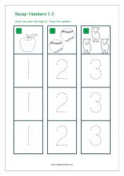 Recap Numbers 1-3