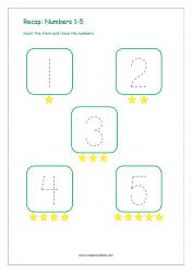 Recap Numbers 1-5