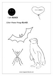 Black Coloring Page