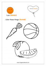 Orange Coloring Page
