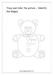 Identify The Shapes - Bear
