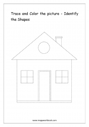 Identify The Shapes - Hut