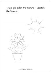 Identify The Shapes - Flower
